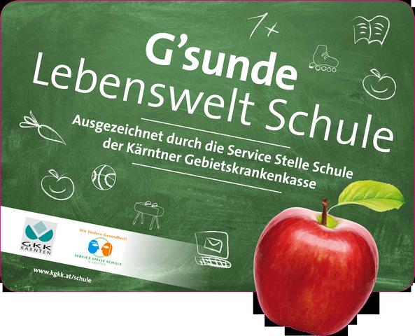 """G'sunde Lebenswelt Schule"""